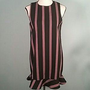 Zara trafaluc medium dress stripes